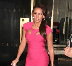 Mel B,  proche de l'etouffement dans sa robe de Barbie... le flop mode