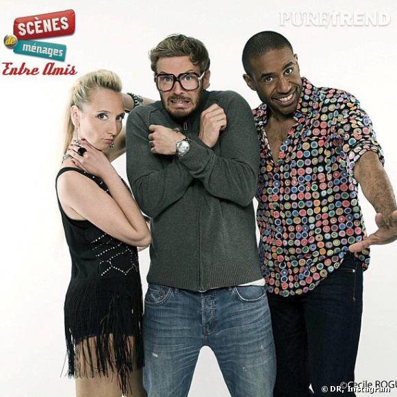 """M. Pokora, polyvalent ? Le chanteur a récemment joué dans """"Scènes de ménages : entre amis"""" sur M6."""