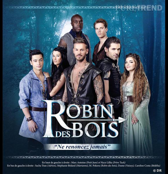 """Aujourd'hui, Matt Pokora démarre une nouvelle aventure : le spectacle musical """"Robin des Bois""""."""