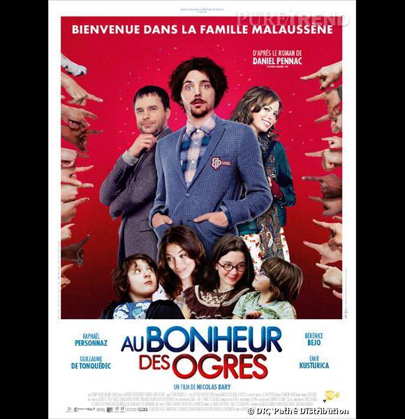 """""""Au Bonheur des Ogres"""", l'affiche du film."""