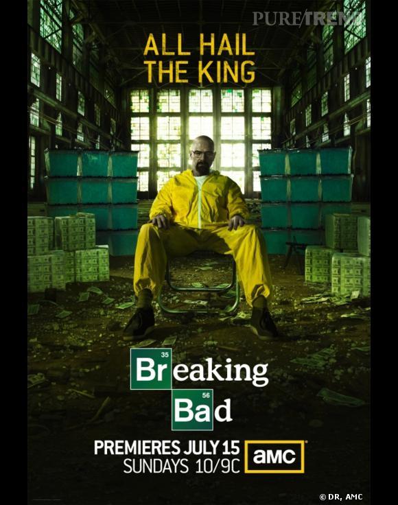 """""""Breaking Bad"""", l'une des meilleures séries du moment."""