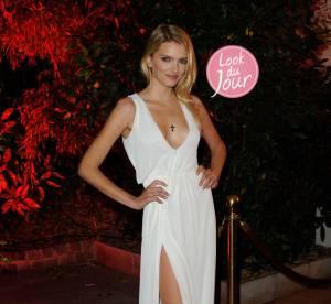 Lily Donaldson, sensualite extreme a la soiree Mademoiselle C a Paris