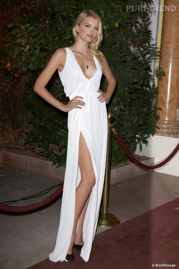 Lily Donaldson maîtrise le jeté de jambes à la perfection.