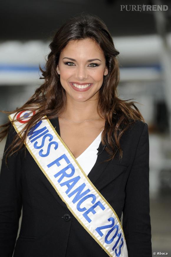 Marine Lorphelin, une pétillante Miss France qui n'est pas célibataire.