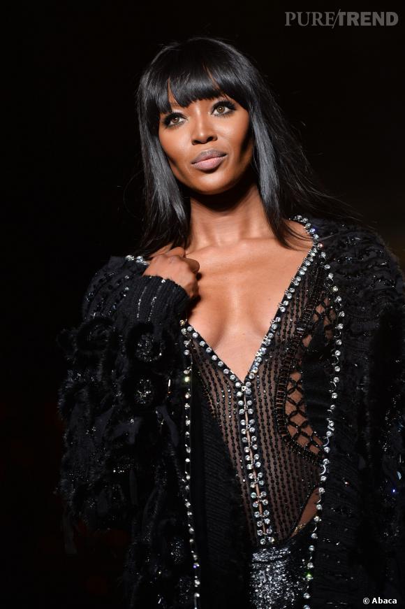 Naomi Campbell, mise a la diete avant le defile Versace ...