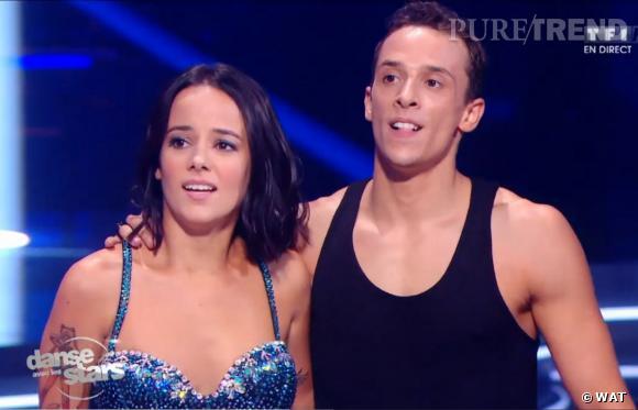"""Alizée et son danseur Grégoire Lyonnet dans """"Danse avec les stars"""" 4."""