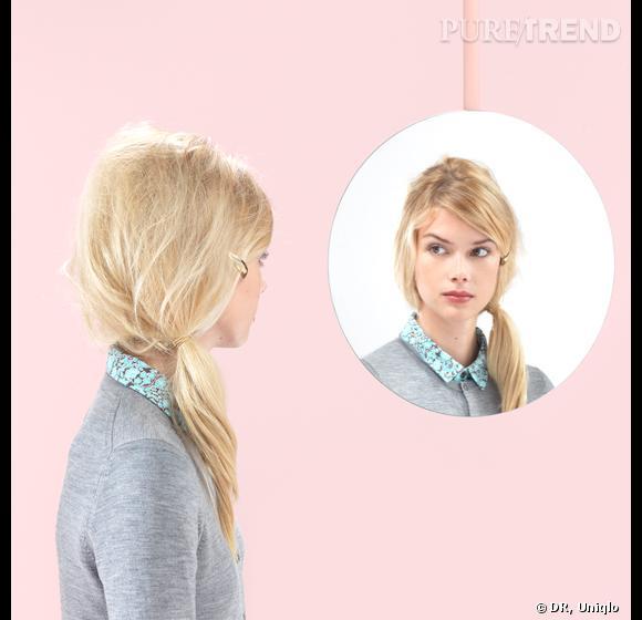 Uniqlo lance ses tutoriels coiffure pour multiplier les styles.