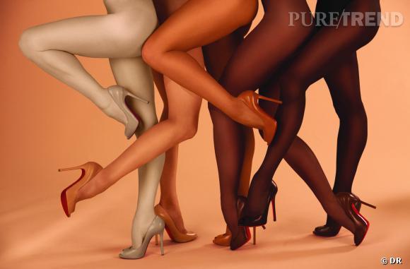 "Christian Louboutin dévoile sa collection ""The Nudes""."