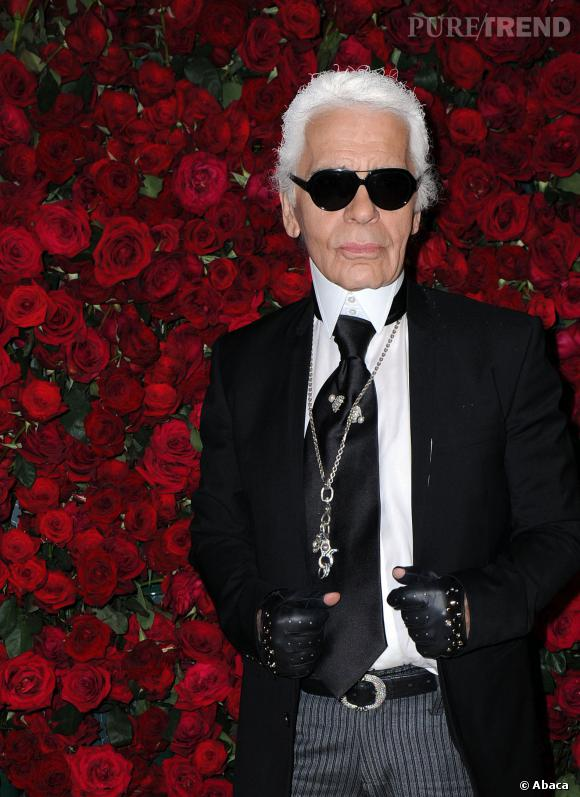 Karl Lagerfeld retourne à l'école... mais en tant qu'intervenant.
