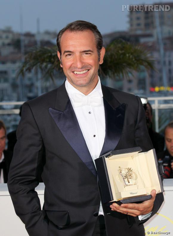 """Jean Dujardin, consacré à Cannes pour """"The Artist""""."""