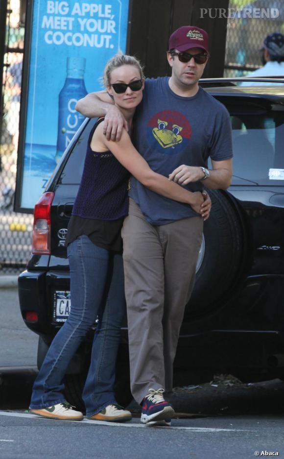 Olivia Wilde et Jason Sudeikis vont avoir un bébé !