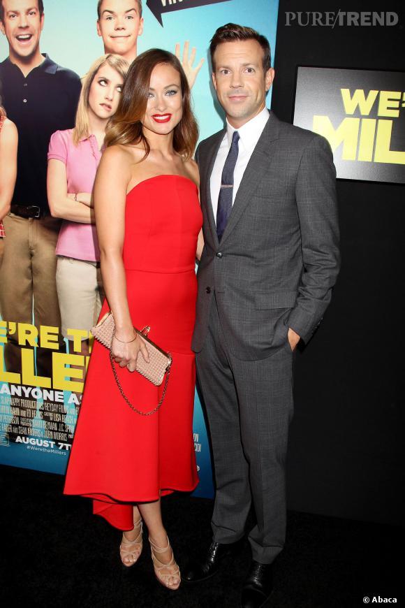 Olivia Wilde est enceinte de Jason Sudeikis.