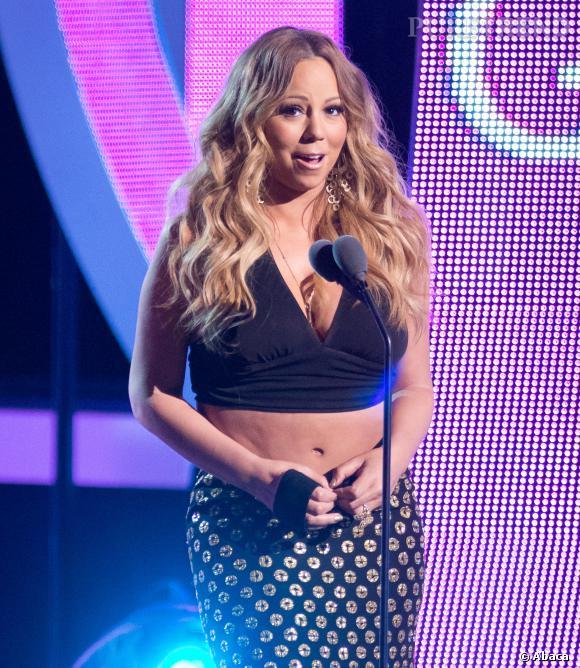 Mariah Carey à la soirée BET's 2013 Black Girls Rock le 26 octobre 2013 à Newark.