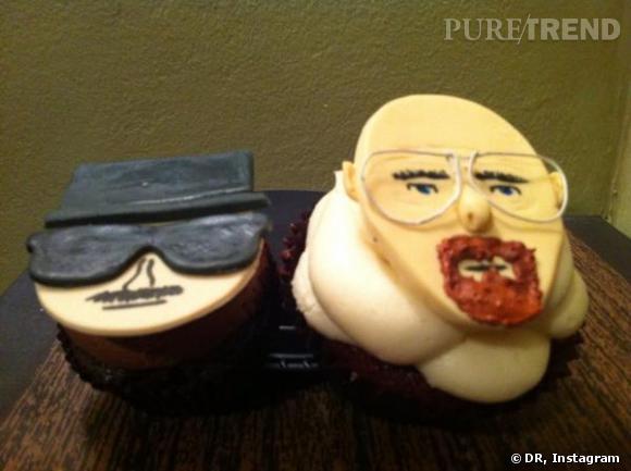 """""""Breaking Bad"""" : AMC a fabriqué des petits cupcakes pour célébrer la fin de la série."""