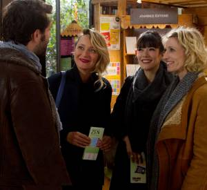 """Teaser du film """"Jamais le premier soir"""" avec Alexandra Lamy, Mélanie Doutey et Julie Ferrier."""