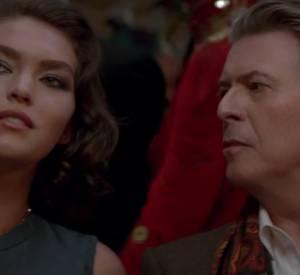 """La dernière """"Invitation au Voyage"""" de Louis Vuitton avec David Bowie et Arizona Muse."""