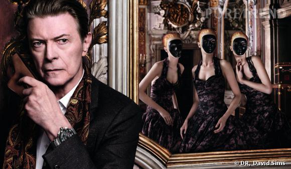 """David Bowie envoûte Arizona Muse dans cette nouvelle """"Invitation au Voyage"""" de Louis Vuitton."""