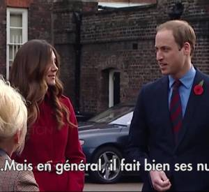 "Kate Middleton et le prince William au ""Poppy Day""."