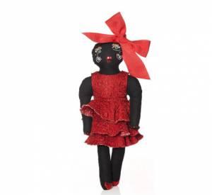 """Les poupées d'Alber Elbaz pour Lanvin en soutien à l'association caritative """"Dessine l'Espoir""""."""