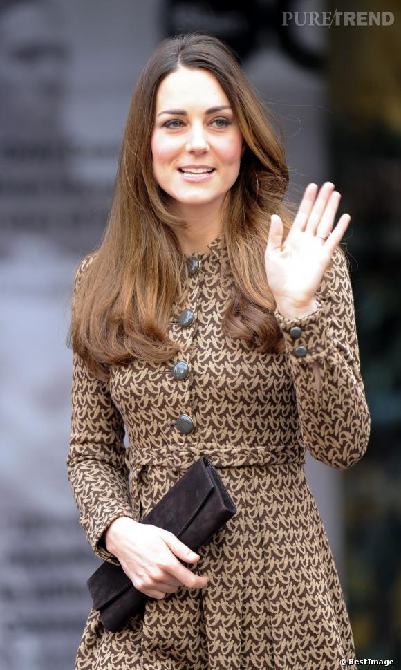 Kate Middleton à une cérémonie à Londres.