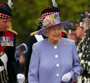 La reine nourrit une grande passion pour les teintes pastel.