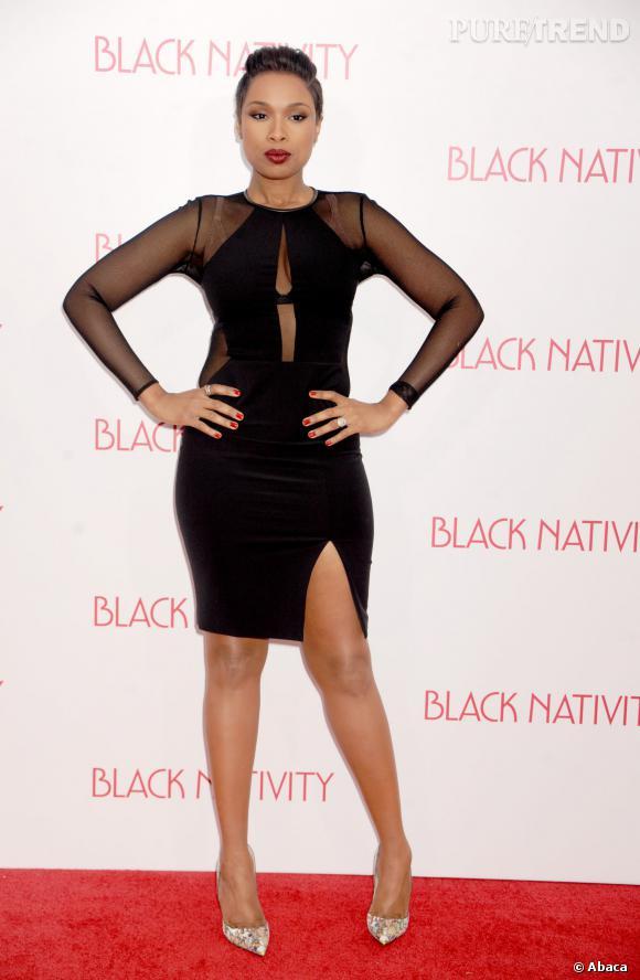 Jennifer Hudson sort le grand jeu avec une robe sexy à souhait.