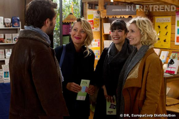 """""""Jamais le premier soir"""", un film de Mélissa Drigeard avec Alexandra Lamy, Mélanie Doutey et Julie Ferrier."""