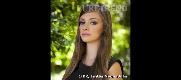 La Miss Roussillon déstituée l'été dernier, Norma Julia.