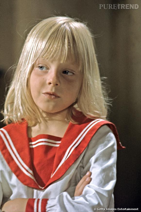 Jodie Foster, trop craquante à 6 ans pour ses premiers pas au cinéma.