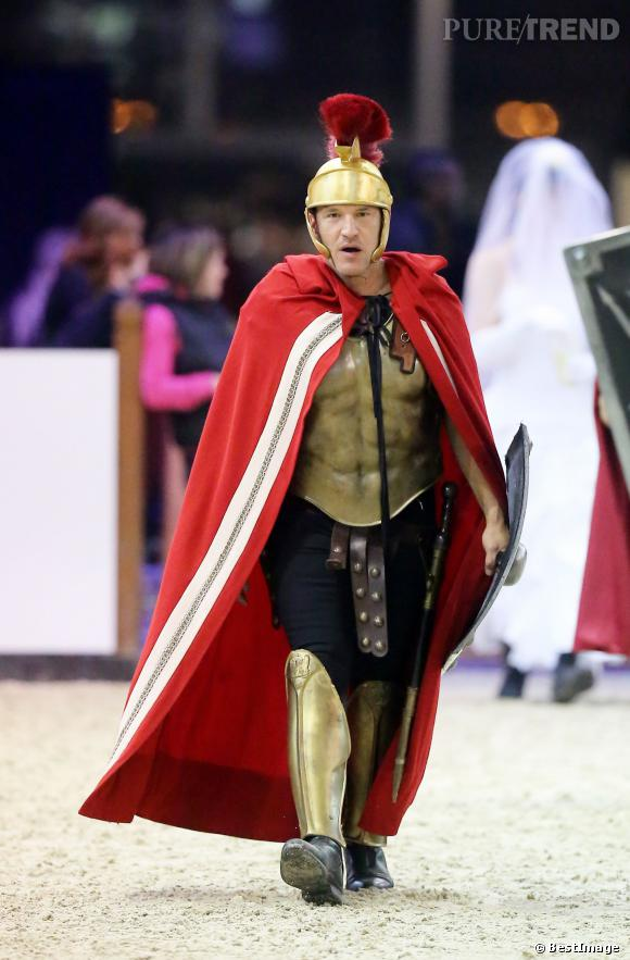 Benjamin Castaldi, le cavalier gladiateur.