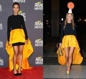 Kerry Washington VS Anna Dello Russo : la robe asymétrique Michael Kors