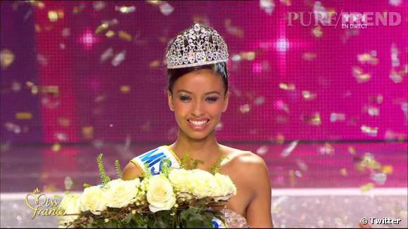 Flora Coquerel, élue Miss France 2014.