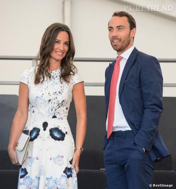 Kate Middleton et la jolie Pippa ont un petit frère bien moins populaire qu'elles : James Middleton.