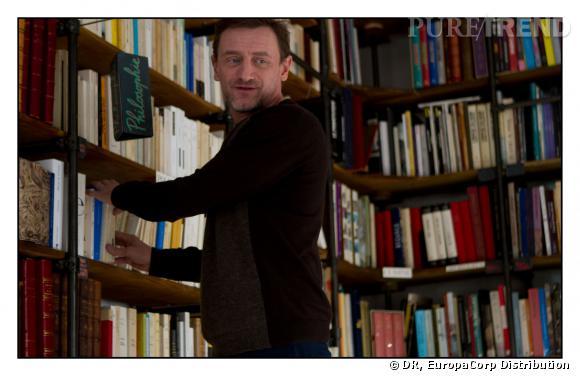 Jean-Paul Rouve interprète le rôle de Marc, un libraire au début pince sans rire.
