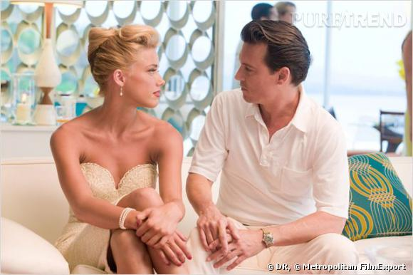 Johnny Depp aurait couverte Amber Heard de diamants pour Noël.