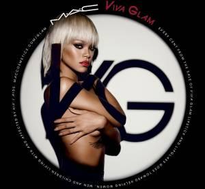 Rihanna : un topless sexy pour Viva Glam de MAC Cosmetics