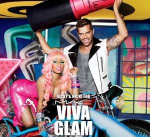 Une précédente compagne Viva Glam avec Nicki Minaj et Ricky Martin.