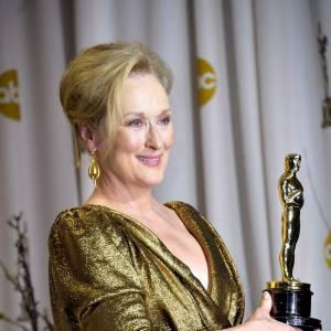 "Meryl Streep dans ""La Dame de Fer"", un rôle qui lui vaut un Oscar."