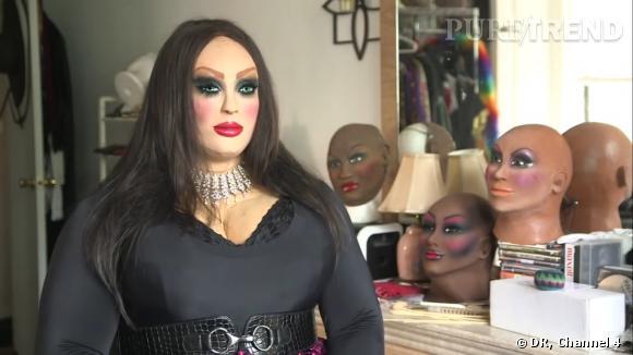 """Dans l'émission """"Secrets of the Living Dolls"""", on découvre Dominique, un homme aimant se déguiser en poupée."""