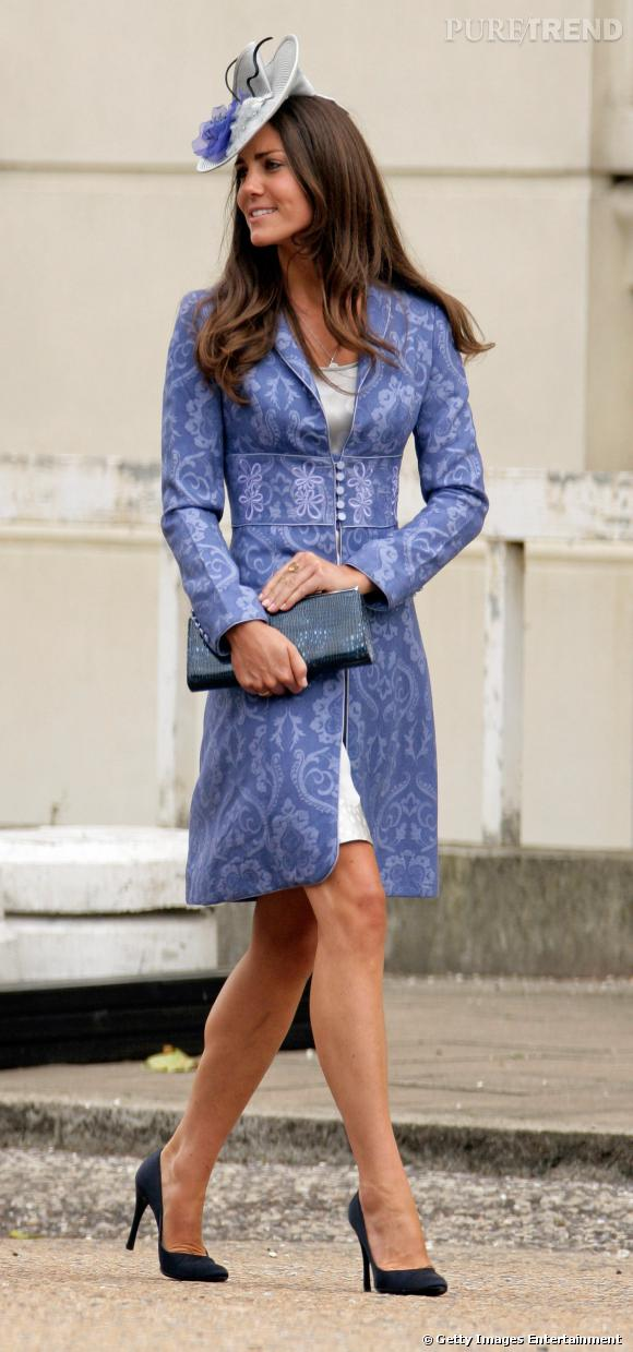 Avant son mariage avec le Prince William, Kate Middleton avait déjà un certain sens du style.