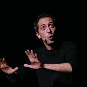 Gad Elmaleh : acteur, humoriste et... papa !