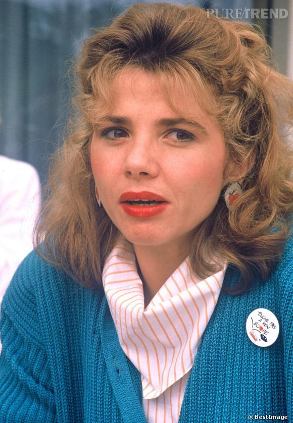 En 1986,Victoria Abril a déjà le look coco pour le festival