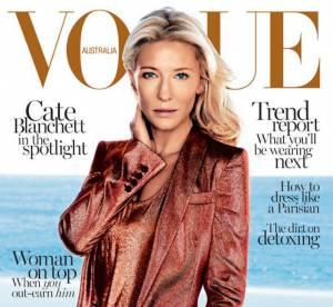 Cate Blanchett pour Vogue : abus de Photoshop ou excès de poudre de soleil ?