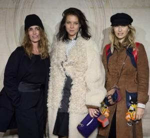 Audrey Marnay enceinte, Kate Bosworth... Le défile Dior Haute Couture P/E 2014