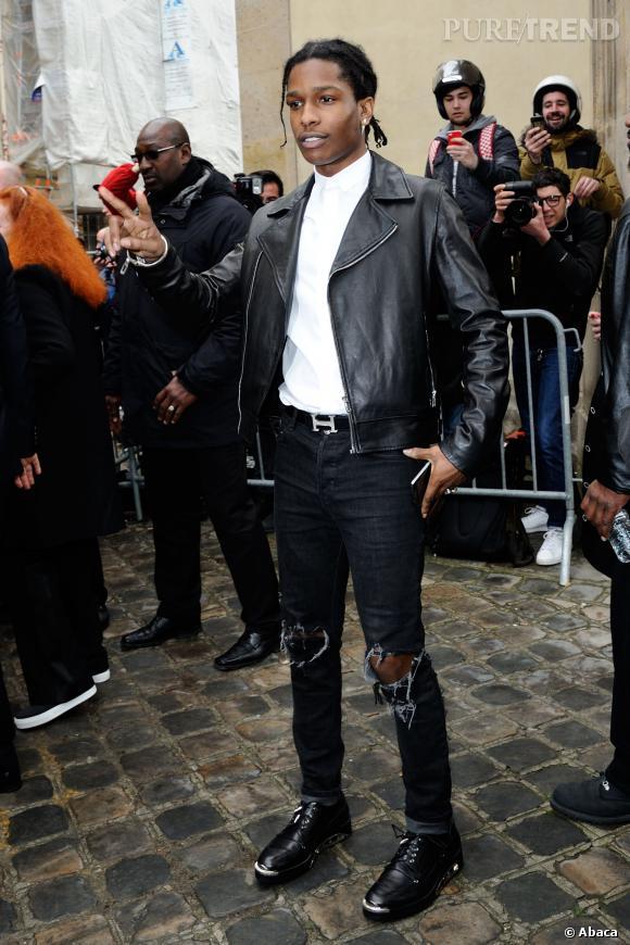 Asap Rocky au défilé Haute Couture Printemps-Été 2014 Christian Dior.