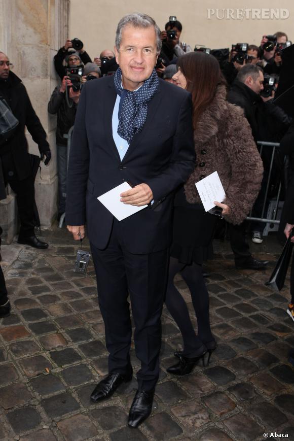 Mario Testino au défilé Haute Couture Printemps-Été 2014 Christian Dior.