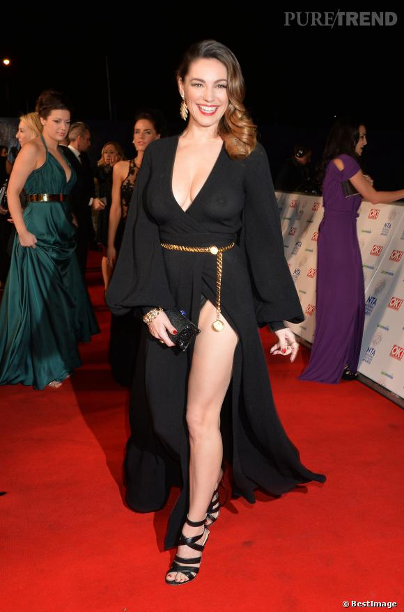 Kelly Brook aux National TV Awards le 22 janvier 2014 à Londres.