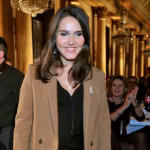 """Joyce Jonathan a fait sensation au gala de charité """"Pièces Jaunes"""", vendredi dernier."""