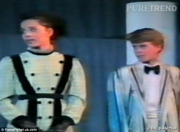 Kate Middleton à l'âge de 11 ans avec Andrew Alexander.