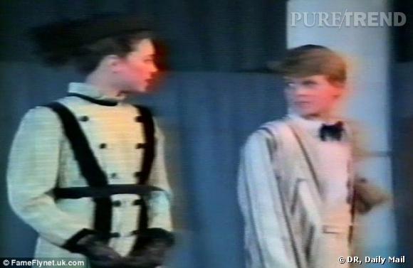 """Kate Middleton à l'âge de 11 ans dans la pièce """"My Fair Lady""""."""